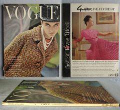Vogue Magazine - 1963 - February